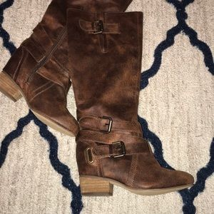 Shoes - Final price!!! Mid length brown boots